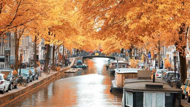 Escapade à Amsterdam en automne, dîner compris (à partir de 2 nuits)