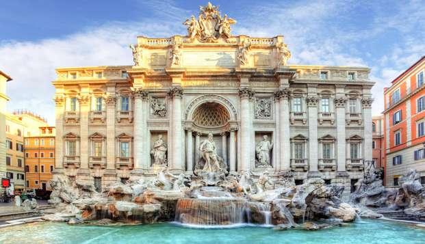 Hôtel au cœur de Rome en famille ou avec les amis