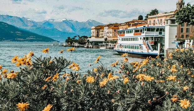 Cadre pittoresque et paysages époustouflants à Bellagiosur le lac de Côme