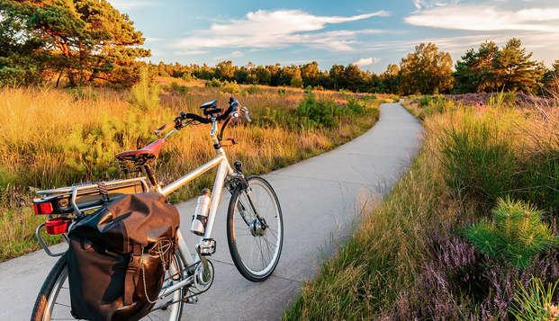 Luxe, comfort en fietsen in het mooie Apeldoorn (vanaf 2 nachten)