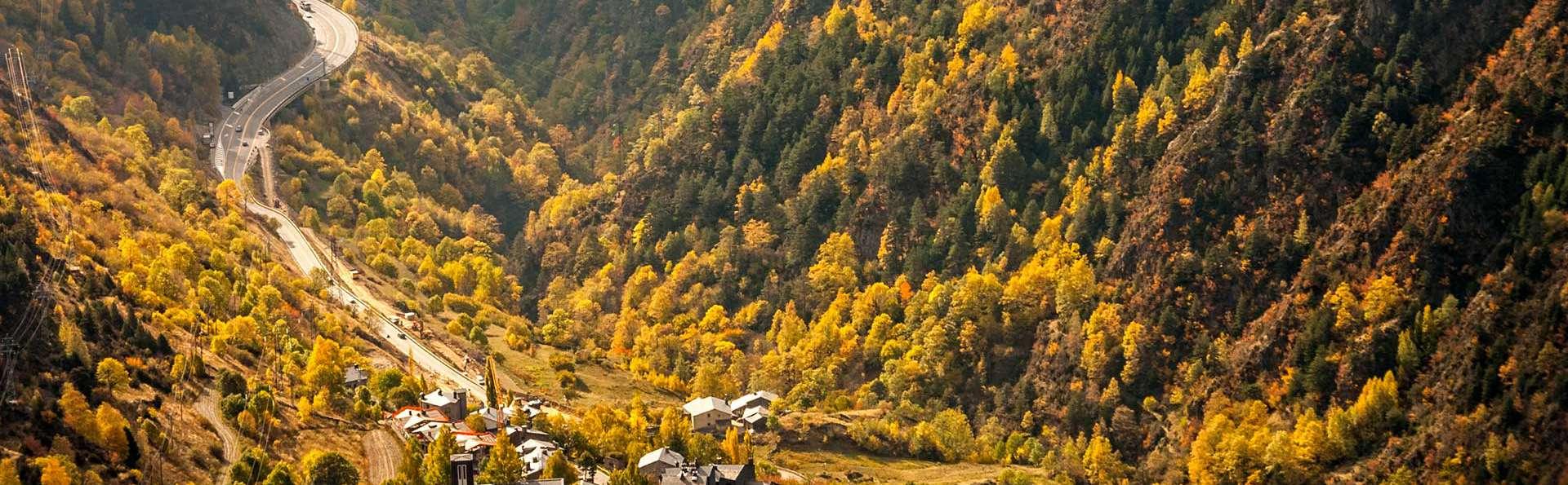 Escapade dans le nord d'Andorre, à Soldeu