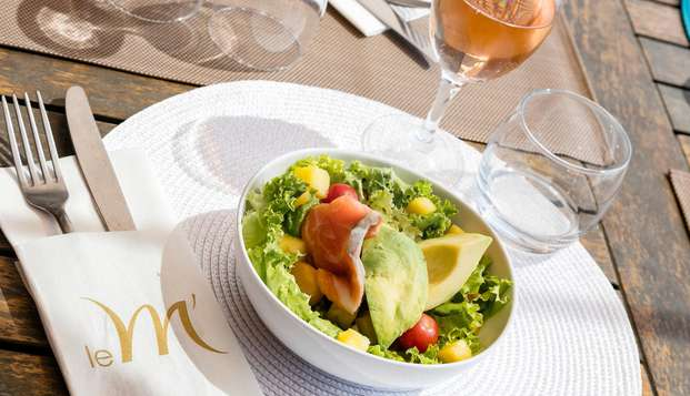 Week-end détente avec dîner dans un hôtel Thalasso à Port Carmague