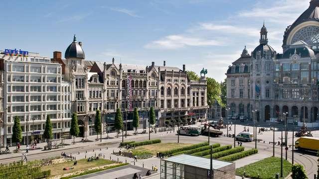 Potrai ammirare la bella città di Anversa in un viaggio di lusso