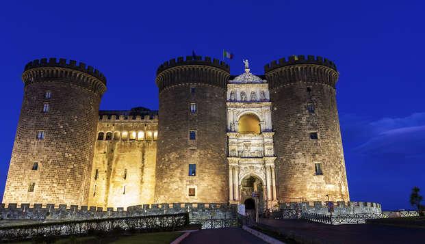 Entre Naples et Ercolano, sur les pentes du Vésuve, dans une villa en chambre Deluxe