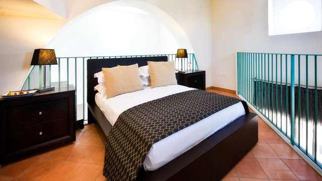 Weekend di coppia in Suite con terrazzo vista Vesuvio e colazione in camera