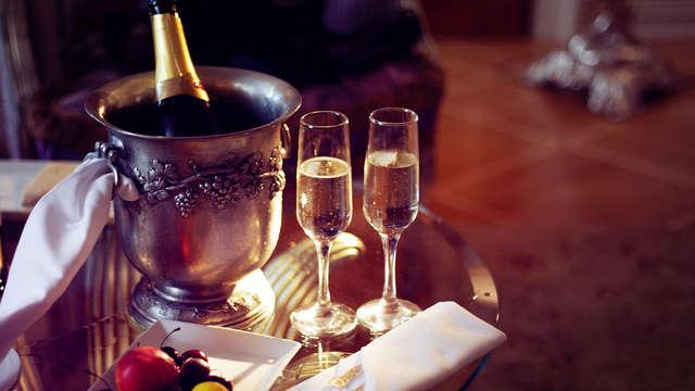 Escapade détente avec des bulles pour les amoureux dans un hôtel 4* près de Paris