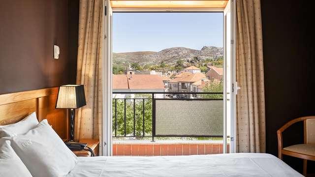 Especial romance en la naturaleza: Escapada con desayuno en la habitación en Castro Laboeiro