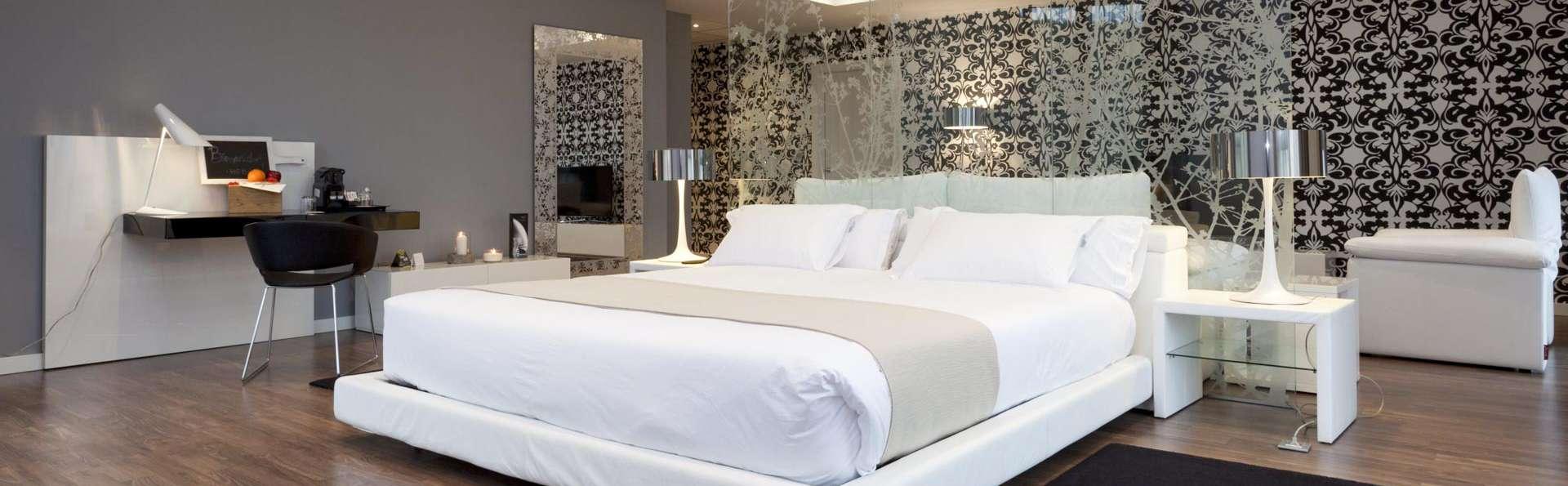 Escapada de lujo en Suite con bañera de hidromasaje en Bilbao