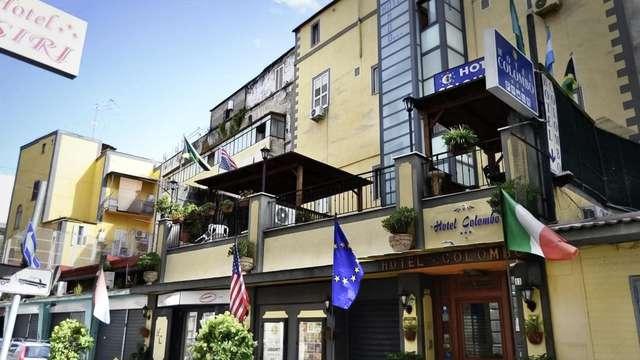 Flânez dans les ruelles historiques de Naples