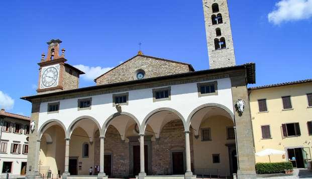 Escapada a las colinas de la Toscana en habitación superior