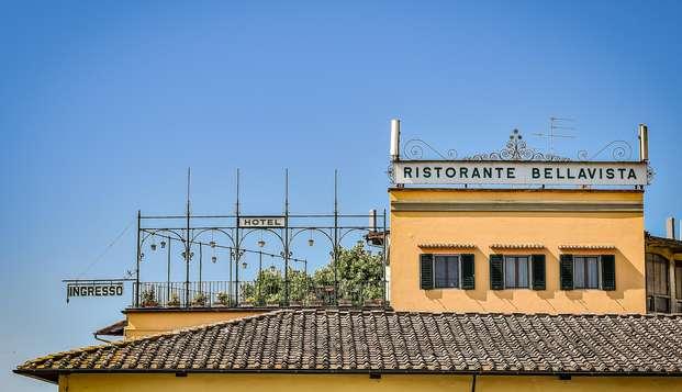 Escápate a la Toscana y disfruta de una habitación superior con aperitivo y botella de vino