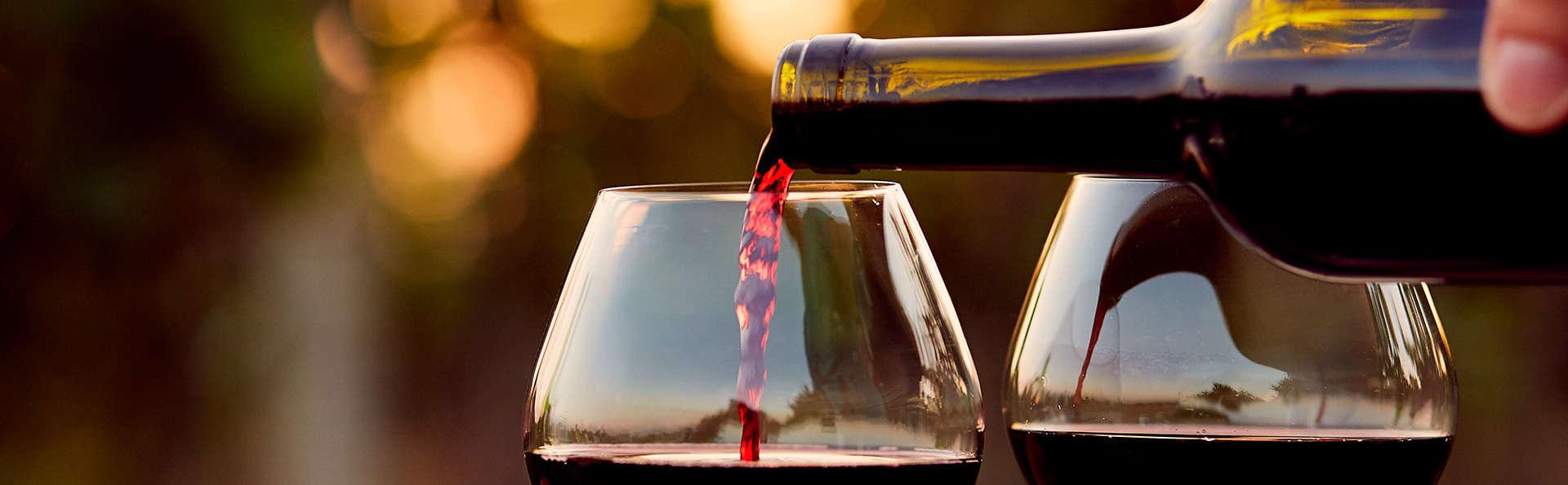 Week-end avec dîner et dégustation de vins toscans dans une chambre supérieure !