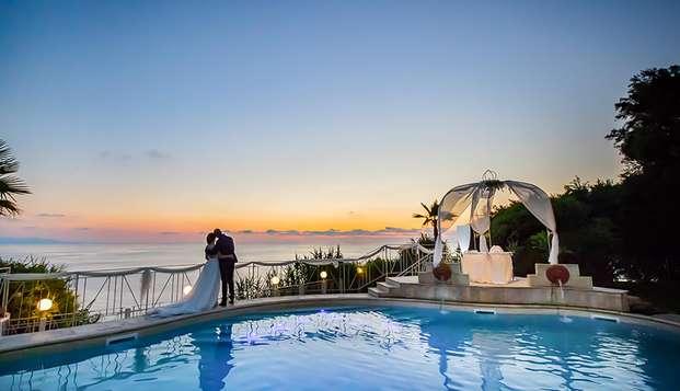 Romantisch weekendje in Calabrië: aan de Costa Viola met diner en eigen spa