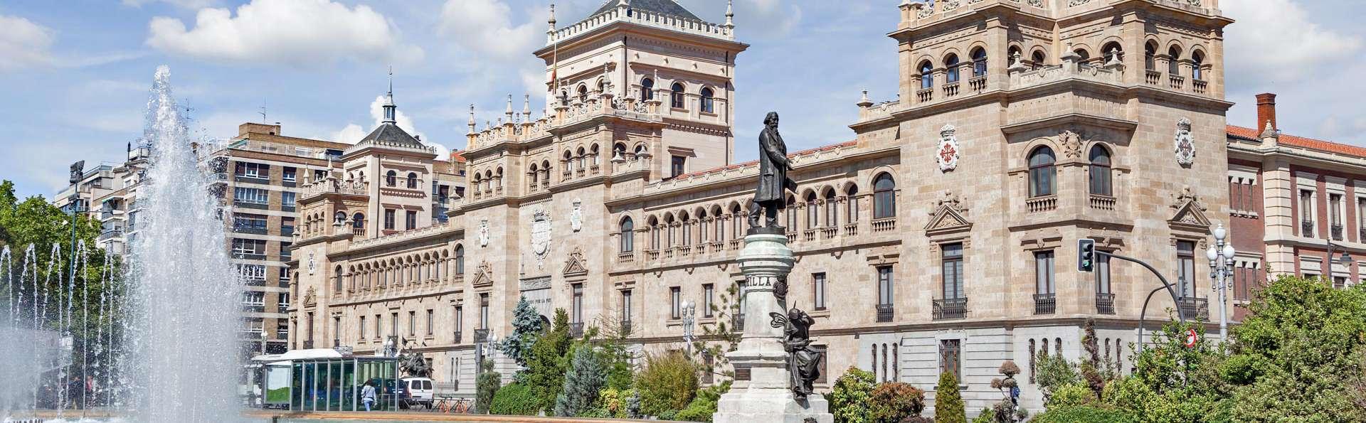 Escapada en Valladolid en habitación superior con desayuno incluido y niño gratis en mismo régimen