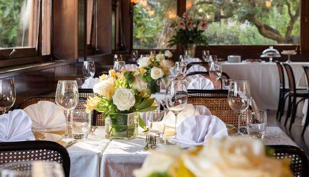 Offre avec dîner dans une élégante villa à Lido de Venise