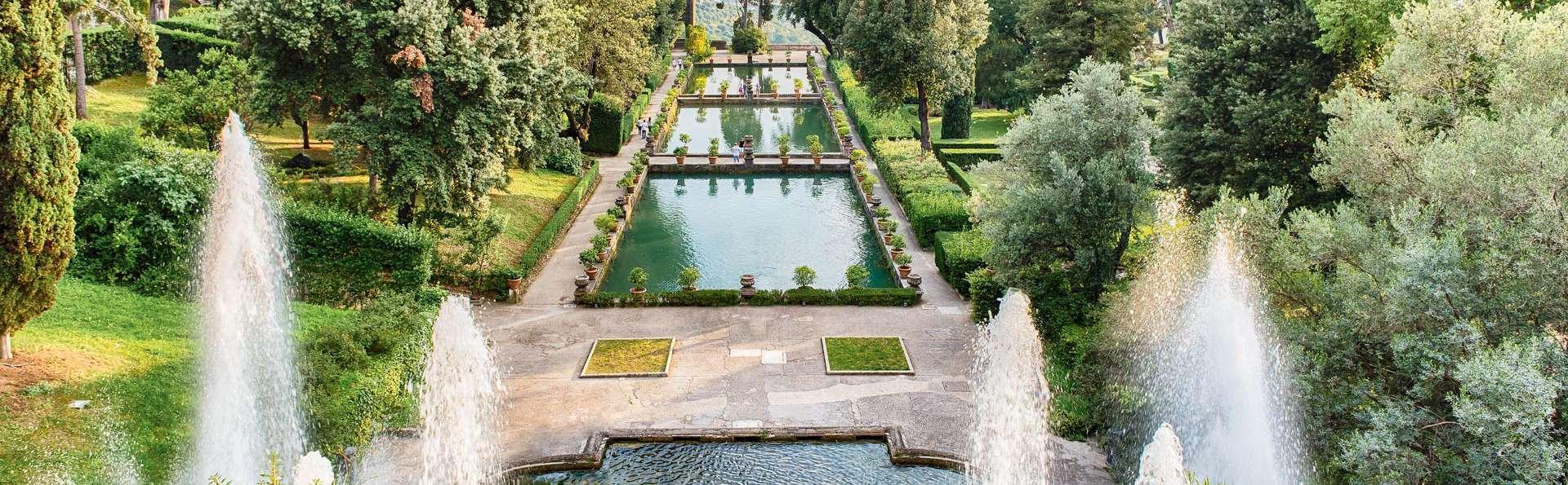 Écrin de verdure aux portes de Rome à Castel Madama