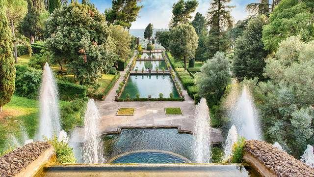 Soggiorno vicino a Tivoli in un moderno 4* circondato dal verde