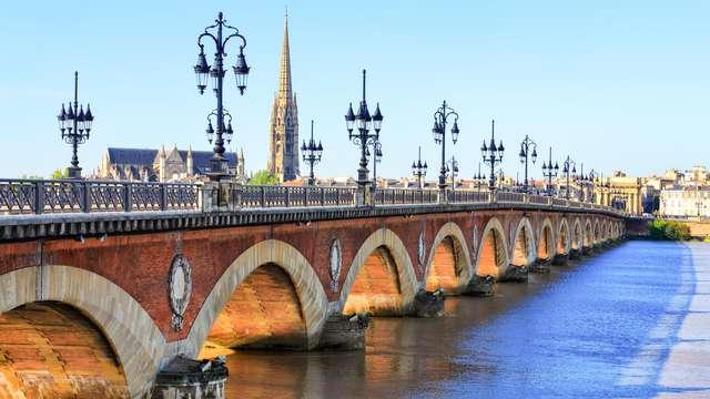 Vous pensiez qu'il n'y avait que le vin? Attendez de voir la majestueuse ville de Bordeaux!