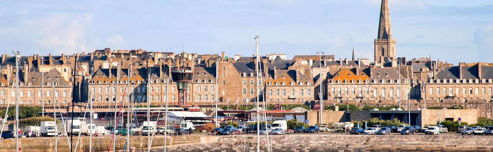 Évasion en bord de mer à Saint-Malo