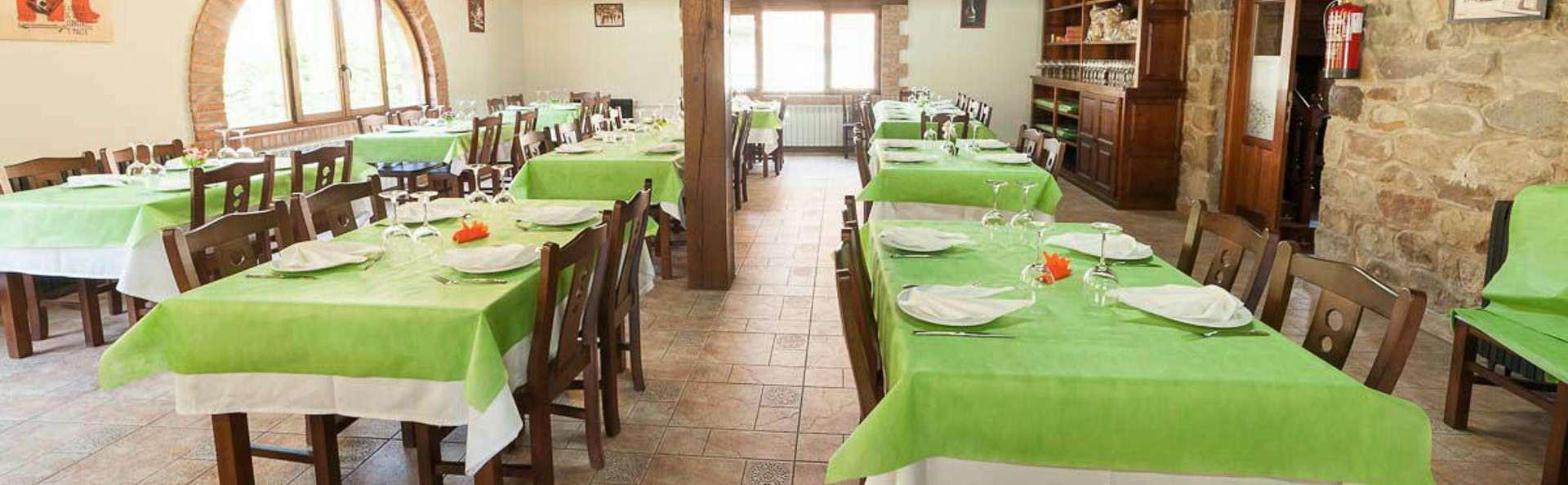 Cuisine traditionnelle dans le parc naturel de Saja-Besaya