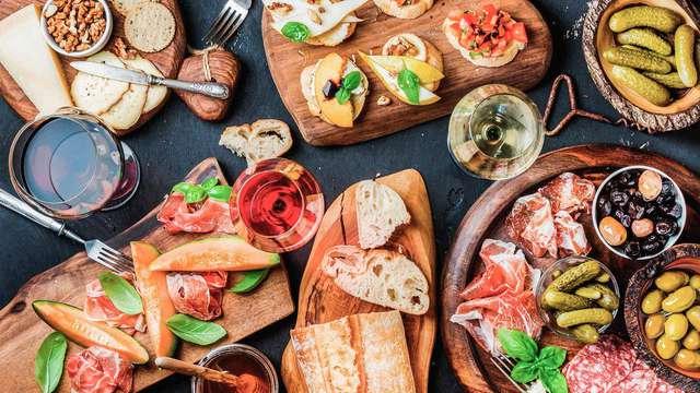 Escápate con los tuyos en Cazorla con cesta de picnic y degustación de tapas (desde 3 noches)