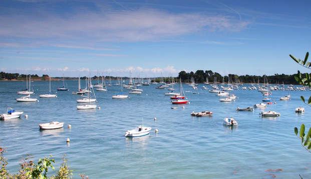 Evasion en famille aux portes du Golfe du Morbihan, au sein de la Résidence Miramar La Cigale