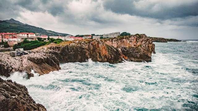 Brisa marina en la costa de Cantabria