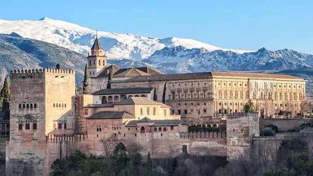 Recorre las calles históricas de Granada