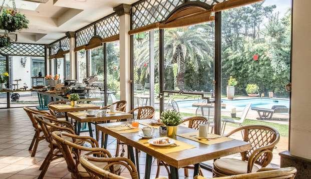 Vacanze romane di relax: 2 notti con cena e upgrade in suite garantito
