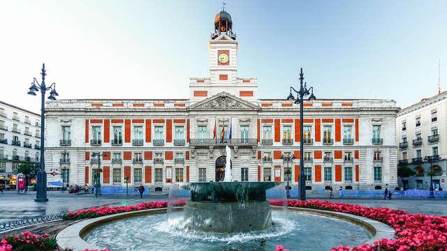 Descubre lo mejor de Madrid y descansa en un alojamiento ideal