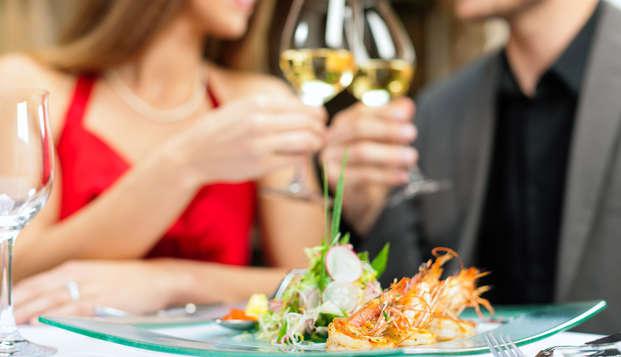 Lujo y gastronomía en un exclusivo hotel en el centro de Madrid con cena incluida