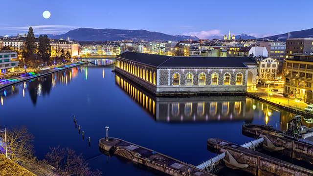 Que diriez-vous d'avoir une piscine et spa à quelques minutes du centre ville de Genève?