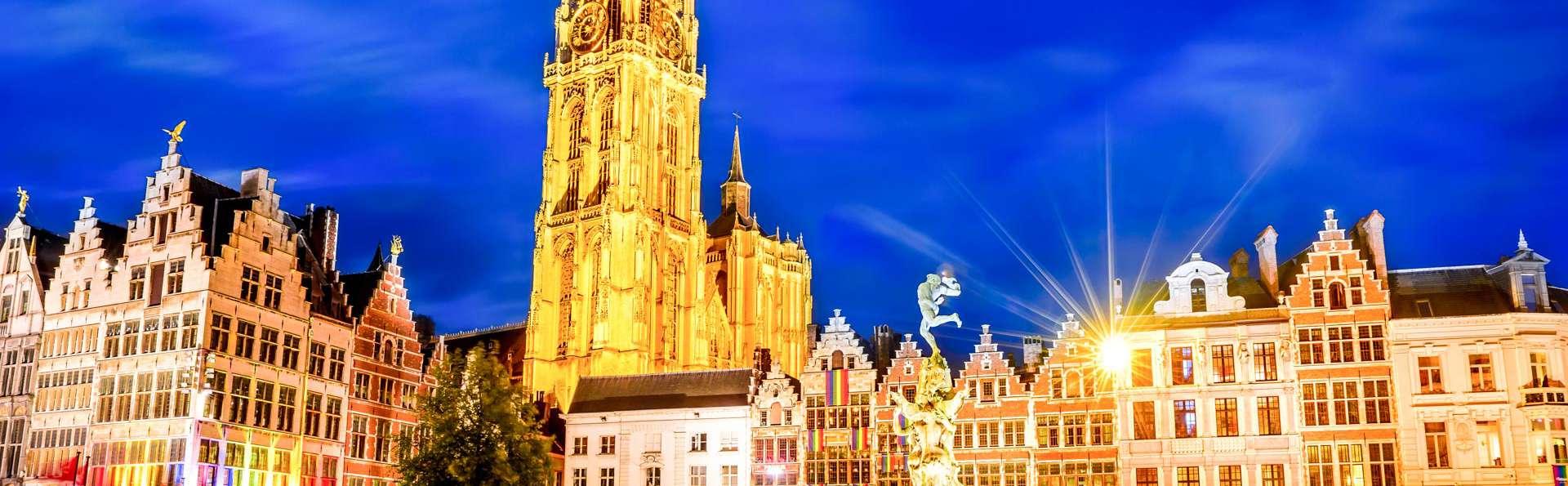 ¿Te gustaría vivir como un rey en el centro de la ciudad de Amberes por una noche?