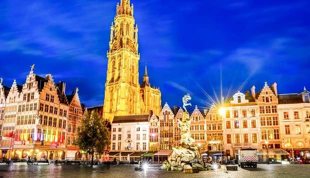 Que diriez-vous de passer une nuit de rêve en plein coeur d'Anvers ?