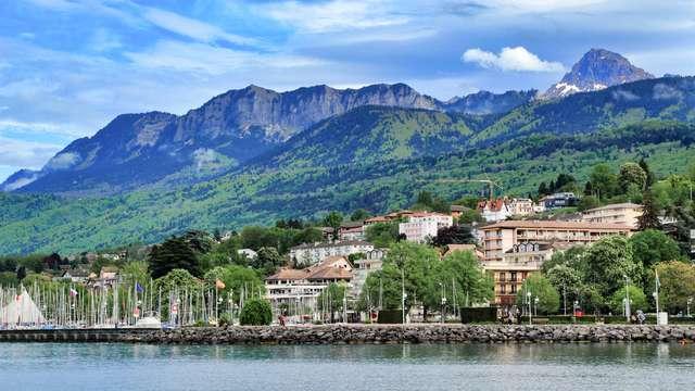Escapade cocooning dans un domaine surplombant le Lac Léman, à Evian-les-Bains
