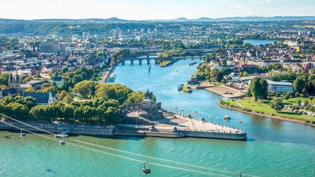 Ideaal optrekje in het hart van Koblenz