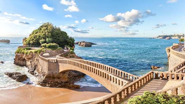 Paréntesis a orillas del mar en Biarritz