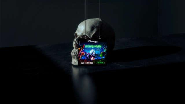 Pásalo de muerte en la Fiesta de Halloween Disney® con estancia 3* en Vincennes