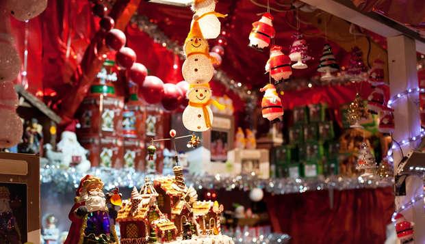 Relájate y pasea por un mercadillo de Navidad cerca de París