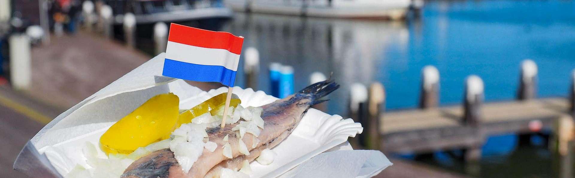 Hébergement et diner dans la partie historique de Volendam, entourée de nature