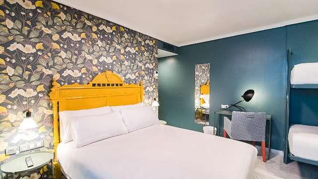 Recorre las calles históricas de Sevilla y alójate en este hotel boutique muy bien ubicado