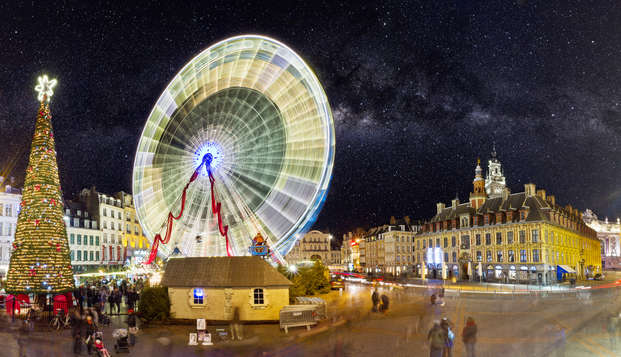 Escapade magique avec goûter au marché de Noël de Lille