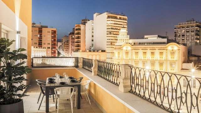 Escapada en un apartamento moderno en el centro de Almería