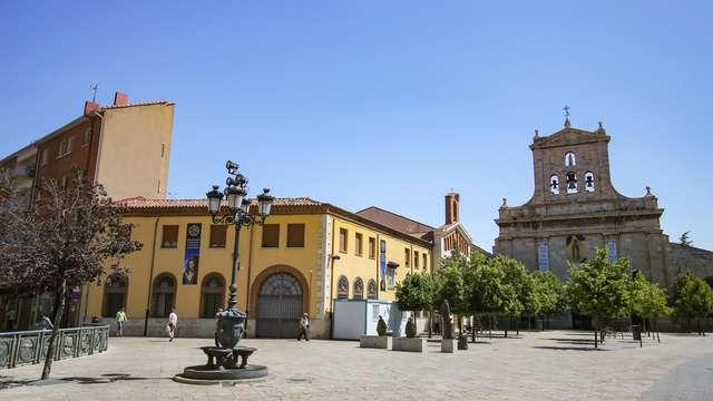 Escapada junto a la plaza de San Lázaro de Palencia