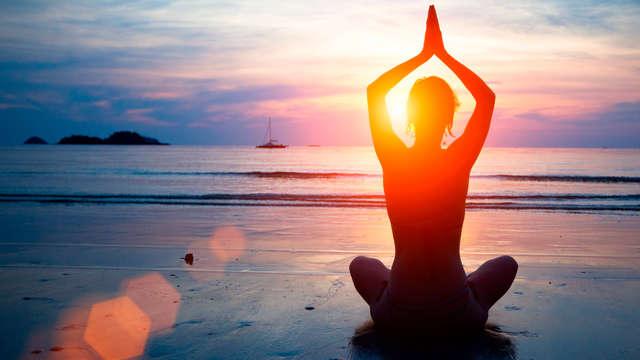 Acceso a la sala de meditación/yoga bajo disponibilidad