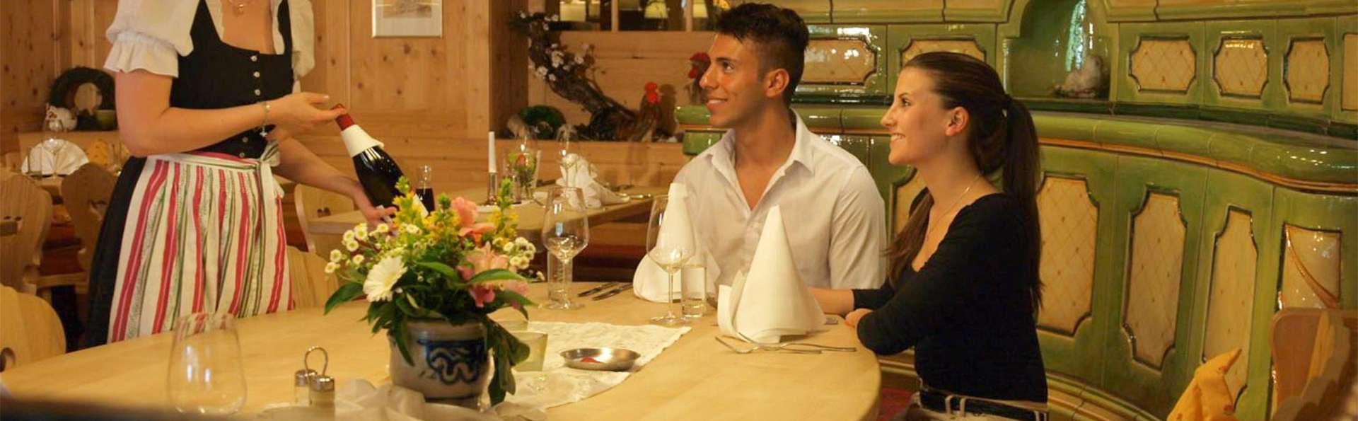 Profitez d'un diner aussi relaxant que succulent pendant vos minivacances dans la Forêt Noire