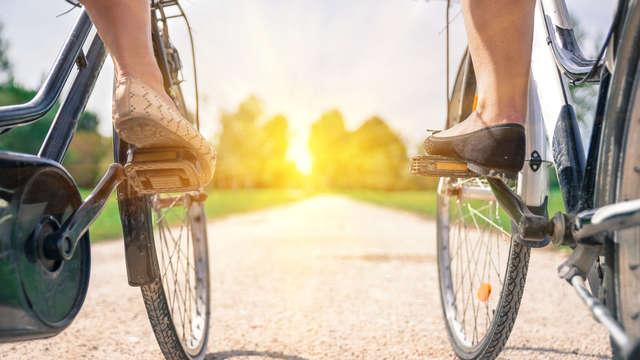 Met je eigen fiets/e-bike de natuur in en gratis SpaSense Wellness!