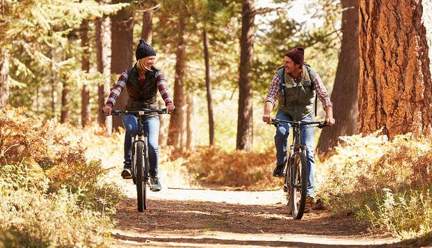 Optimaal genot: 2 nachten op pad met je eigen fiets/e-bike, een 3-gangen diner EN SpaSense Wellness!