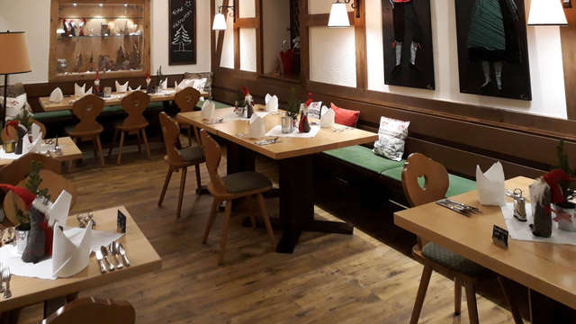 Profitez de la vie avec un séjour wellness et un diner dans la Forêt Noire
