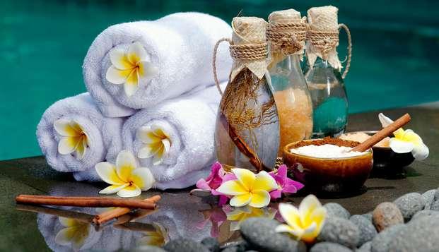 Spa y Tratamiento: elige entre Masaje local o Hidroterapia con esencia de romero